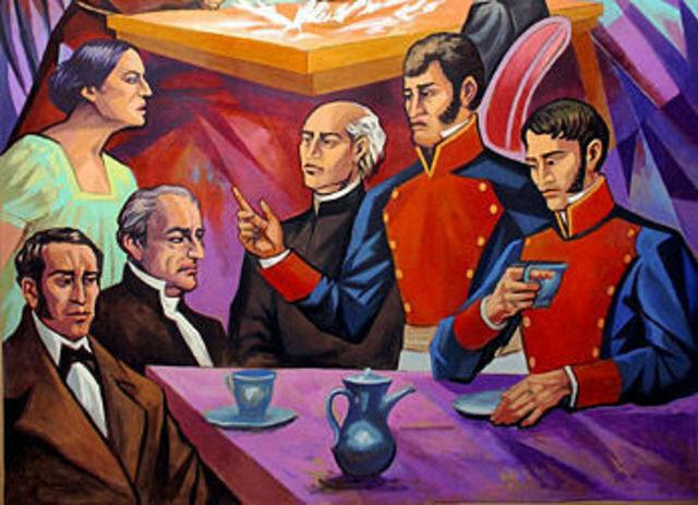 Conspiración de Querétaro en contra del Virreinato de la Nueva España.