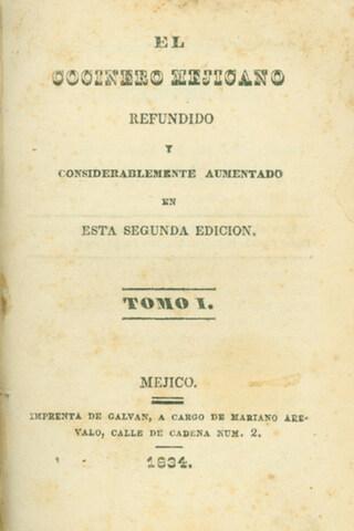 """Se publica el 1er recetario mexicano """"El cocinero mexicano"""""""