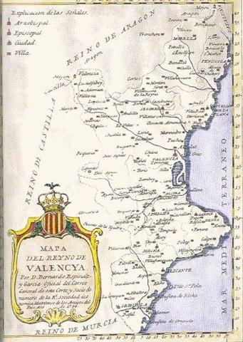 Decret de Nova planta del Regne de València