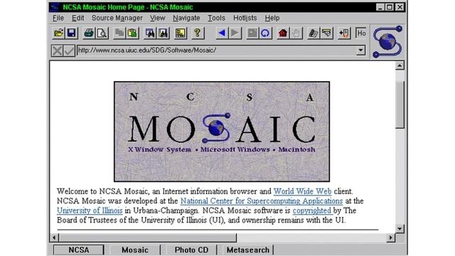 1993 mosaic