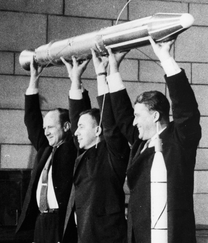 First Satellite in space - USA