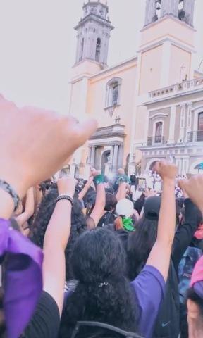 Mi primera marcha feminista