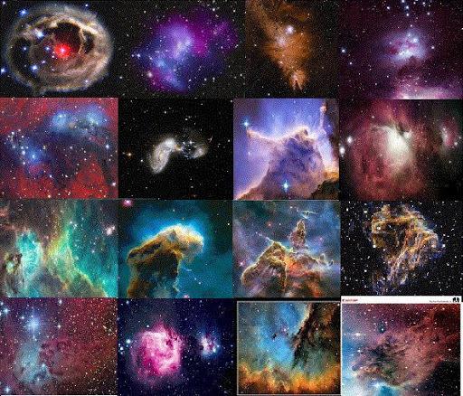 Las nebulosas (Hace 300 millones de años)