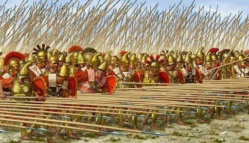 Romanos declaran la guerra a Macedonia