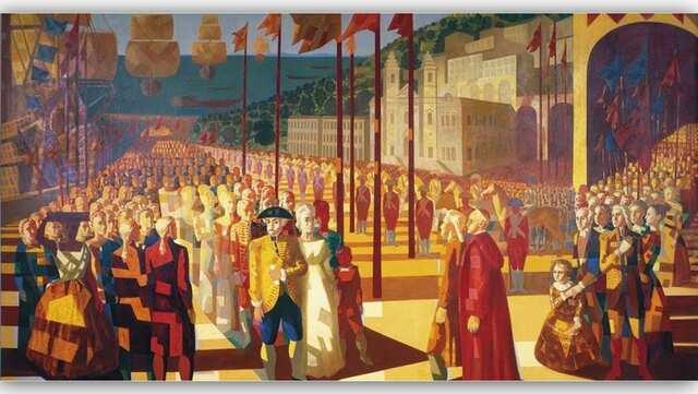 a família real instala-se no Rio de Janeiro