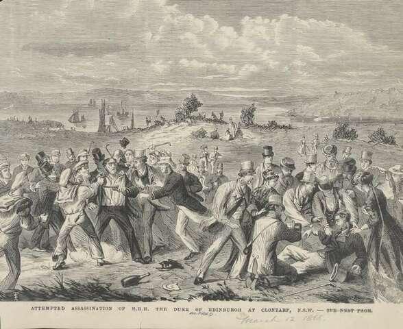 Sectarian Violence at Duke of Edinburgh Visit