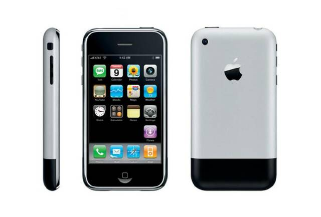 Lanzamiento del primer iPhone