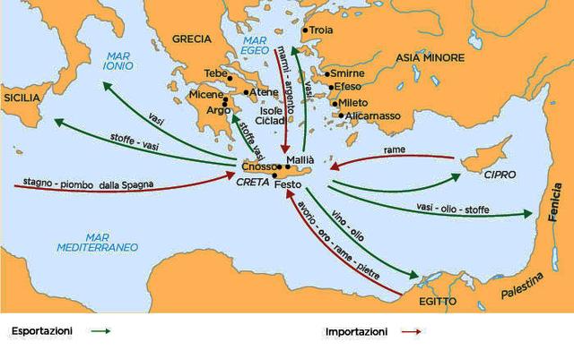 Inizio della civiltà minoica