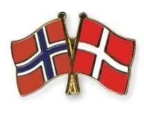 Danmark tar over Norge