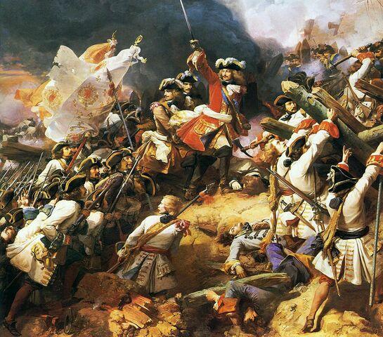 Inicio de la guerra de sucesión