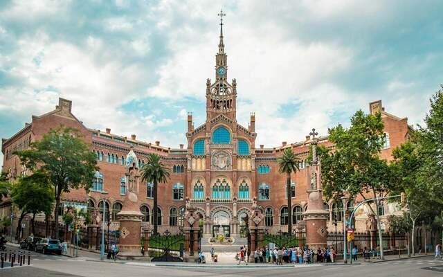 Hospital de Sant Pau - Lluís Domènech i Montaner