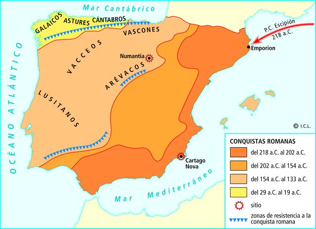 Victoria romana sobre los celtíberos