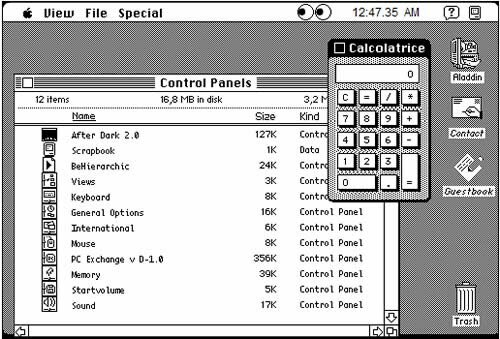 Mac OS Sistema 7