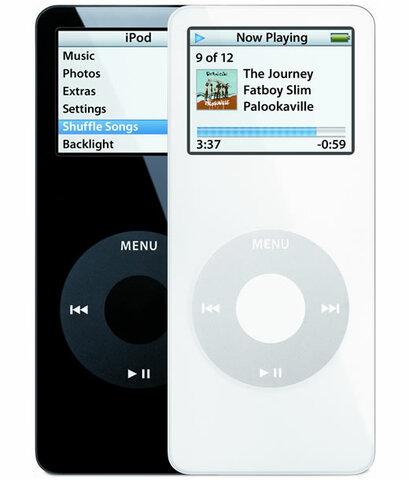 iPhod nano y el iPod Video