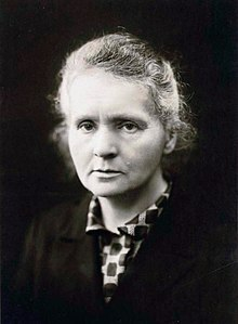 Death of Marie Curie