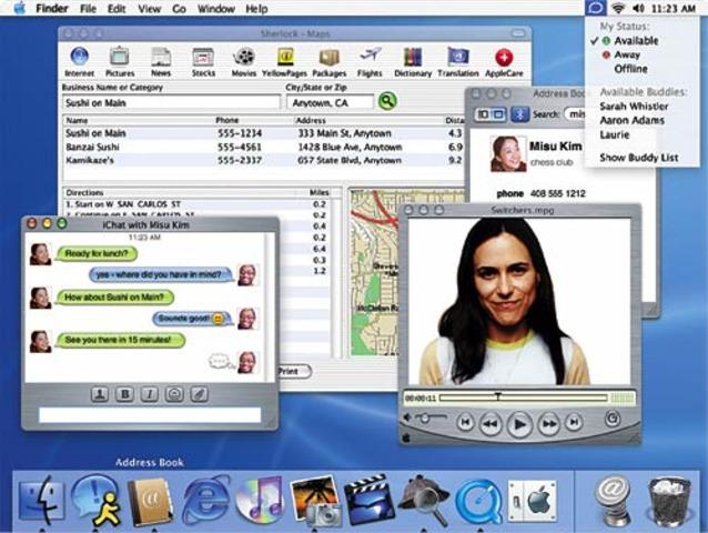 windows 2000 y mac os x