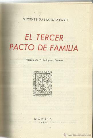 Tercer pacto de Familia