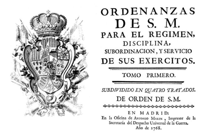 Ordenanzas militares de Carlos III