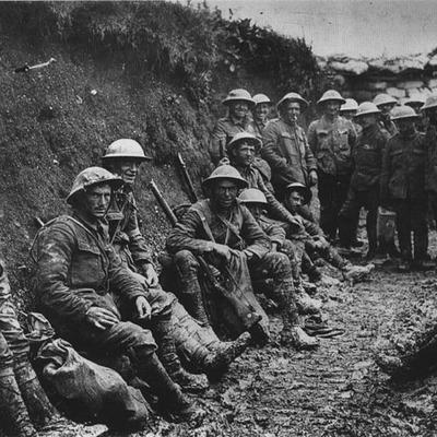 Første verdenskrig timeline