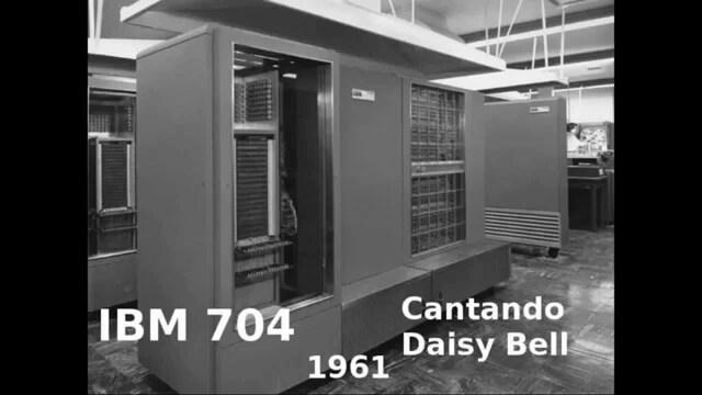 IBM 704 Mainframe