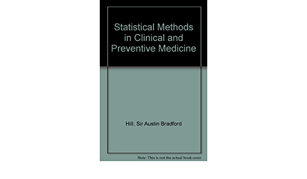 """""""Statistical Methods in clinical and preventive medicine"""""""