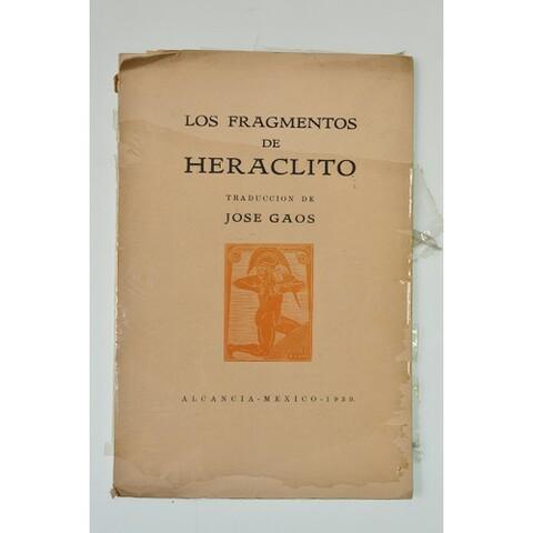 HERÁCLITO: FRAGMENTOS
