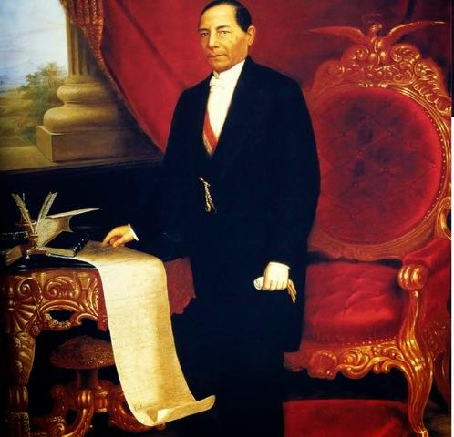 Benito Juárez se convirtió en presidente