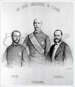 Generals Serrano i Prim