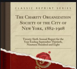 Charity Organization Society.