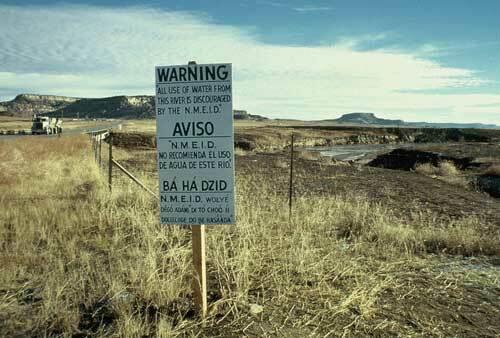 Church Rock uranium mill spill