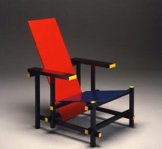 Cadira vermella i blava (Rietveld)