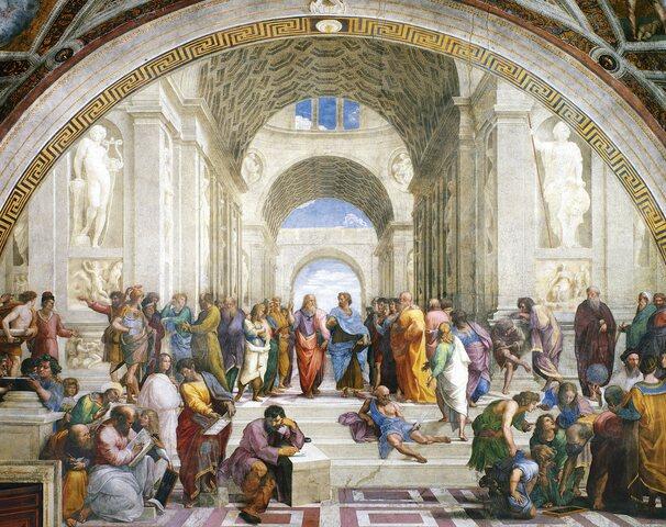 ARISTÓTELES: EN LA ACADEMIA DE PLATÓN