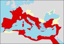 Debut de l'empire romain