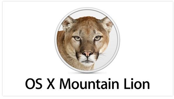 Mac OS X 10.7 Mountain Lion