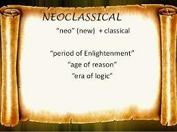 The neoclassical period