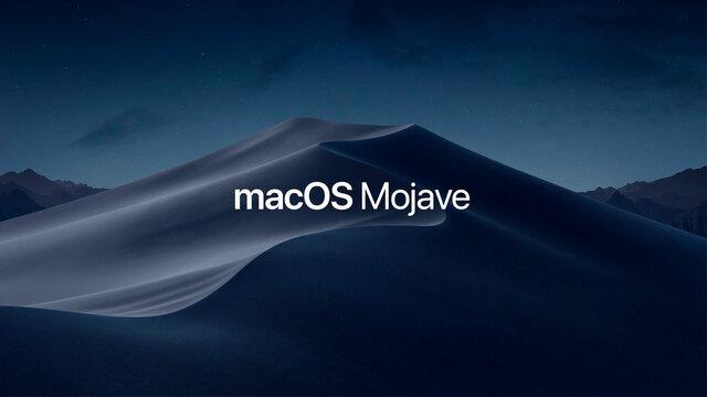 Mac OS X 10.14 macOS Mojave