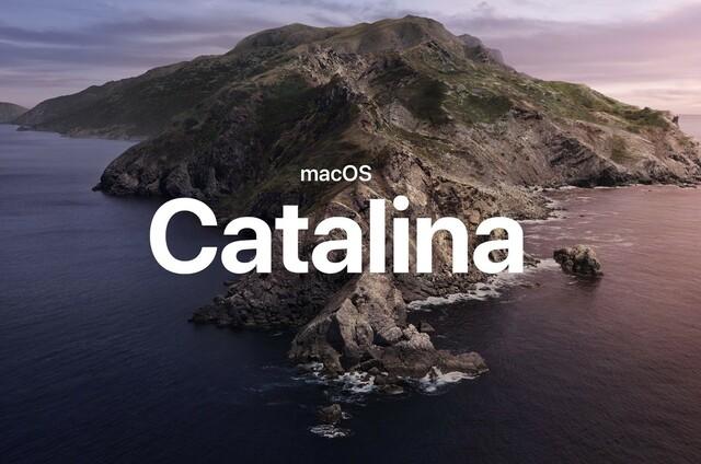 Mac OS X 10.15 macOS Catalina