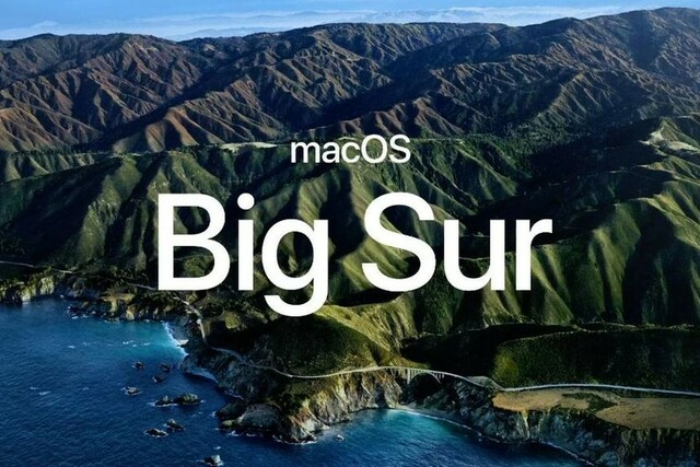 Mac OS 11 Big Sur