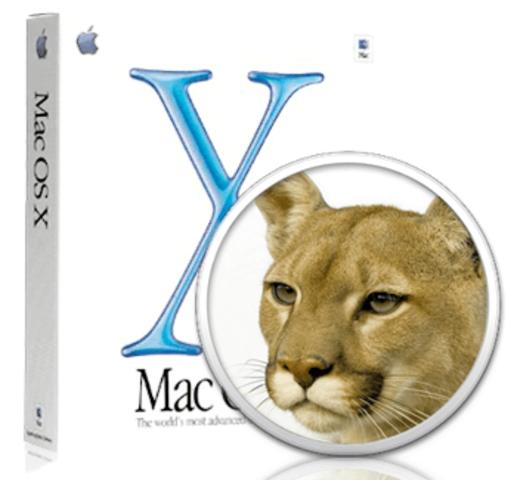 Mac OS X Puma 10.1 - 10.1.5