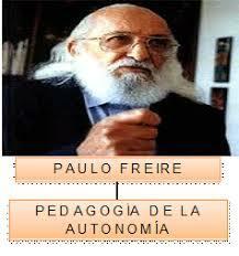 Pedagogía de la autonomía.