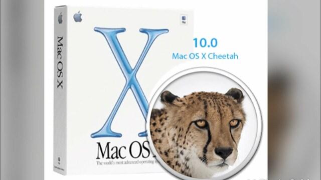 Mac OS X Cheetah 10.0 -10.0.4