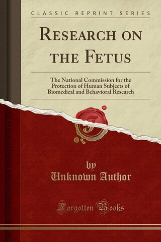 National Commission for the Protection of Human Subjets of Biomedical and Behavioral Researc