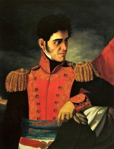 Antonio López de Santa Anna volvió a tomar el poder