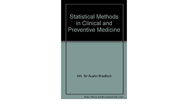 Métodos estadísticos en medicina clínica y preventiva