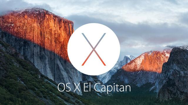 OS X El Capitan 10.11 - 10.11.6