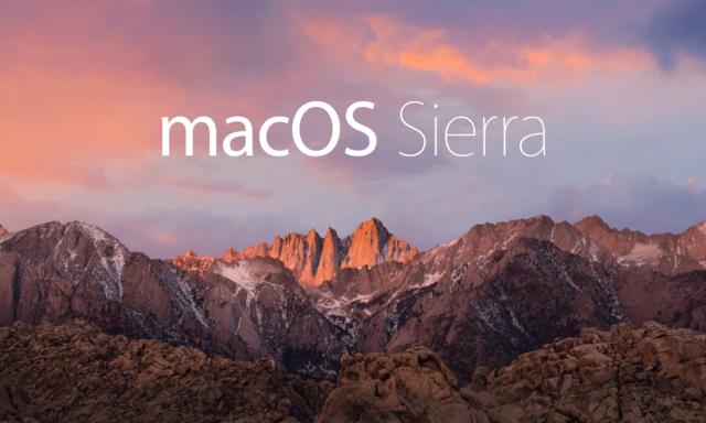 macOS Sierra 10.12 - 10.12.6