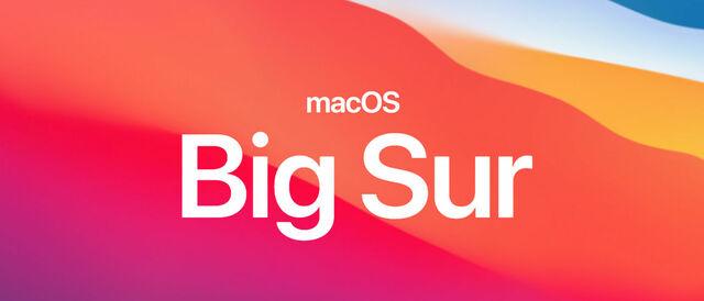 macOS Big Sur 11.2 - 11.2.1