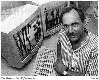 Tim Berners-Lee tenia la idea de permitir el acceso a la información de los investigadores