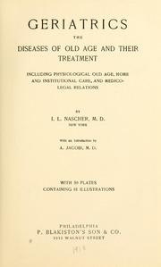 El Dr. Ignatz Leo Nascher y su libro