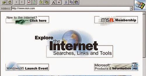 Microsoft empieza a reconocer el poder de internet